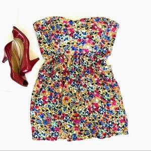 UK Style French Connection Strapless Mini Dress
